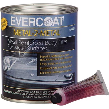 Chucks Auto Body >> Evercoat® Metal-2-Metal™ Body Filler - TP Tools & Equipment