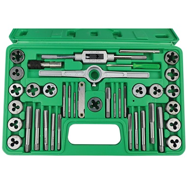 GRIP 40-Pc SAE Tap & Die Set