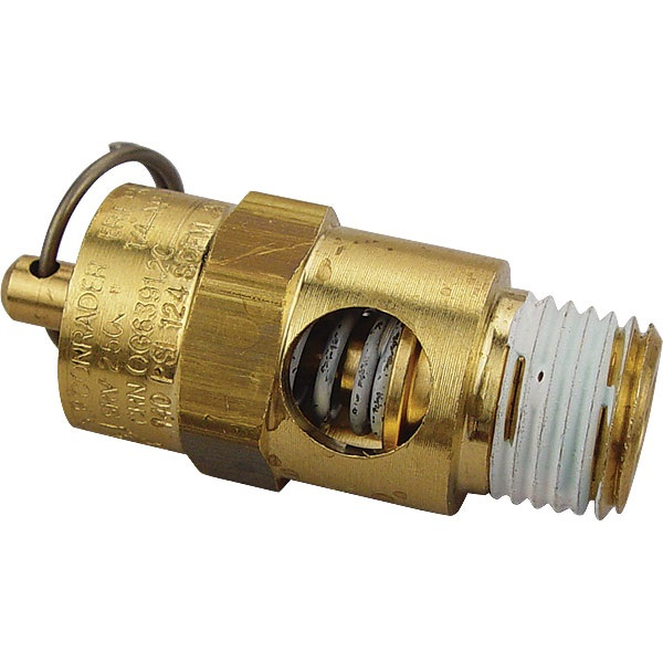 Air Compressor Air Safety Valve - 140 psi
