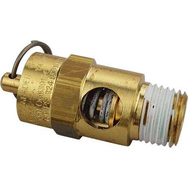 Air Compressor Air Safety Valve - 140 psi