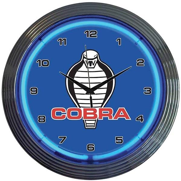Ford Cobra Neon Wall Clock