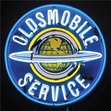Oldsmobile Neon Sign Tp Tools Equipment