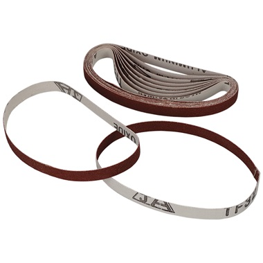 "100 Grit Sanding Belt - 3/8"" x 13"""