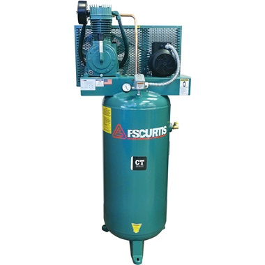 FS-Curtis 5HP, 2-Stage 60-Gal Air Compressor