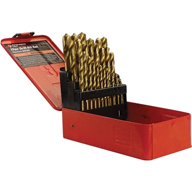 29-Pc Titanium Nitride Drill Bit Set