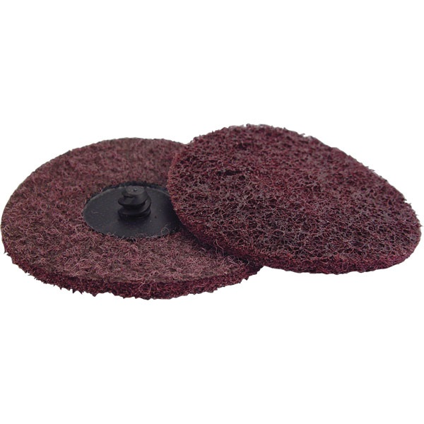 "3"" Quick-Change Surface Conditioning Disc - Med, Maroon - Ea"