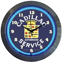 Cadillac Neon Wall Clock