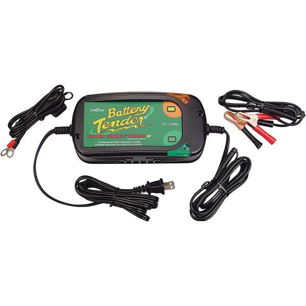 12-V Battery Tender® Plus & Power Tender High-Efficiency Charger - 5.0 Amps