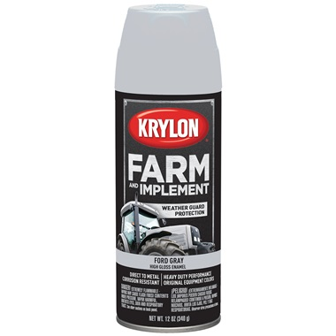 Krylon® Farm & Implement Paint - Ford Gray, 12 oz