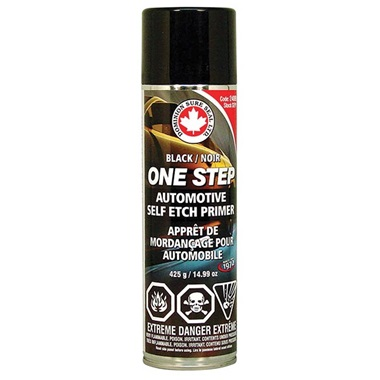 Dominion Sure Seal One-Step Self-Etch Primer - Black, 15 oz