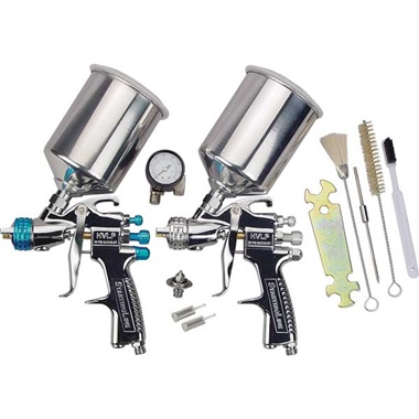 DeVILBISS® StartingLine® 2-Gun HVLP Spray Gun Set