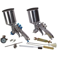 DeVilbiss® StartingLine 2-Gun HVLP Spray Gun Set