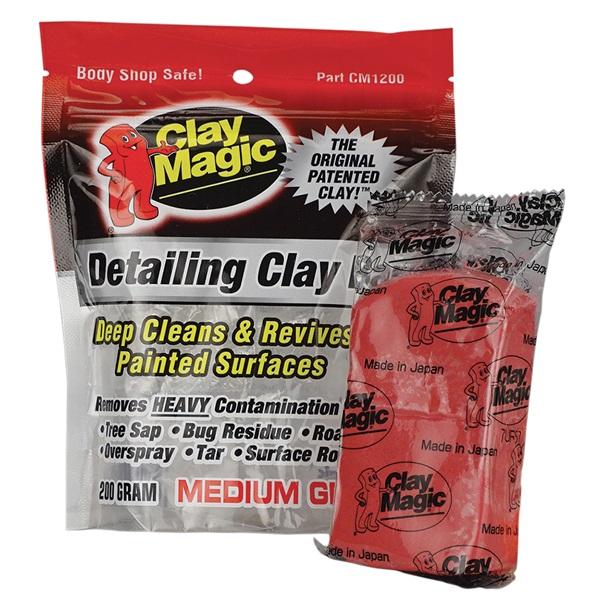 Clay Magic® Clay Bar - Medium (Red)