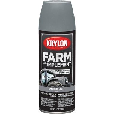 Krylon® Farm & Implement Sandable Gray Primer, 12 oz