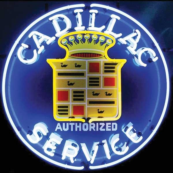 Cadillac Neon Sign