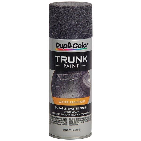 Dupli-Color® Spatter Finish Trunk Paint - Black & Gray, 11 oz