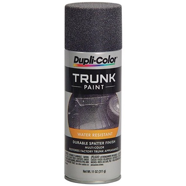 Dupli-Color® Spatter Finish Trunk Paint - Black & Gray, 11 oz