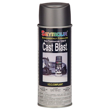 SEYMOUR® High Temp Cast Blast Restoration Paint, 12 oz