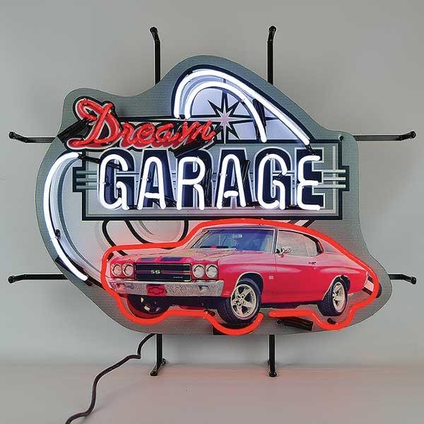Dream Garage Chevelle Neon Sign