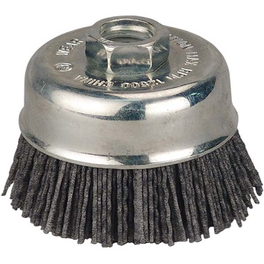 "Dico Nyalox 3"" Cup Brush, 80-Grit"
