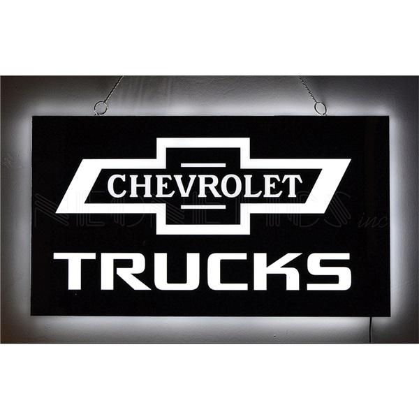 Chevrolet Trucks Slim Line LED Sign