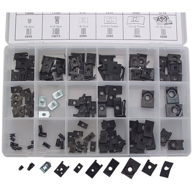 148-Pc Body & Trim Nut Assortment