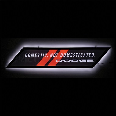 Dodge Slim Line LED Sign