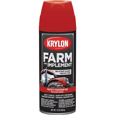 Krylon® Farm & Implement Paint - Massey Ferguson Red, 12 oz