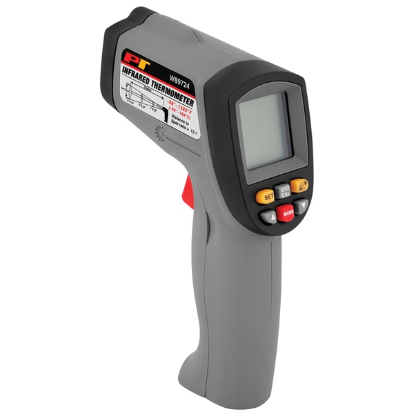 performance tool deluxe infrared thermometer tp tools equipment. Black Bedroom Furniture Sets. Home Design Ideas