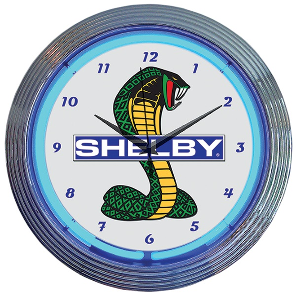 Shelby Snake Neon Wall Clock