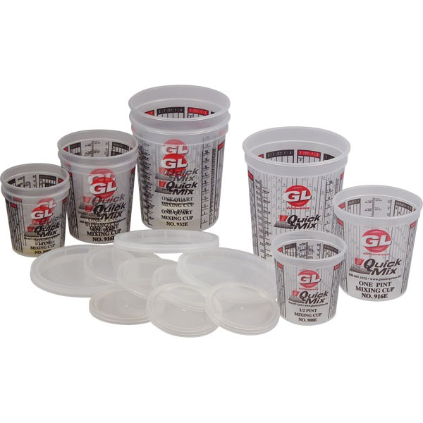 Quick Mix 18-Pc Paint Mixing Cup Set
