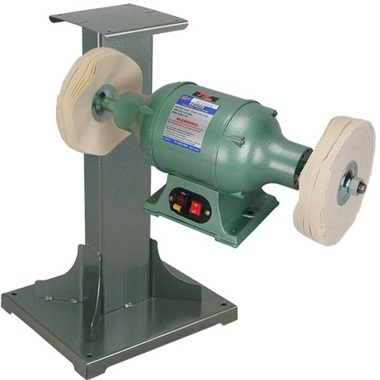 TP Tools® 2-Speed 3/4HP Buffer and 11 Ga Steel Stand