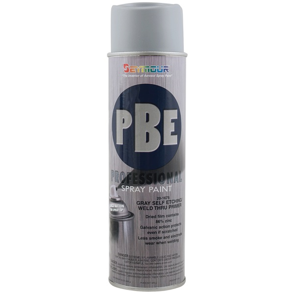 SEYMOUR® PBE Professional Self-Etch/Weld Thru Primer - Gray, 15 oz