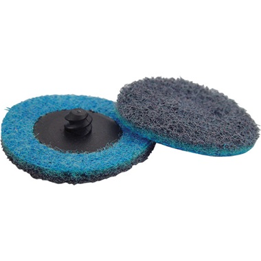 "2"" Quick-Change Surface Conditioning Disc - Fine, Blue - Ea"