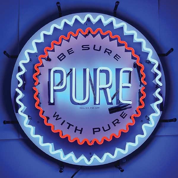 Pure Gasoline Neon Sign