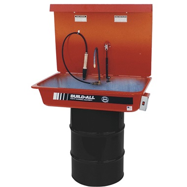 30-Gallon Drum-Mounted Parts Washer
