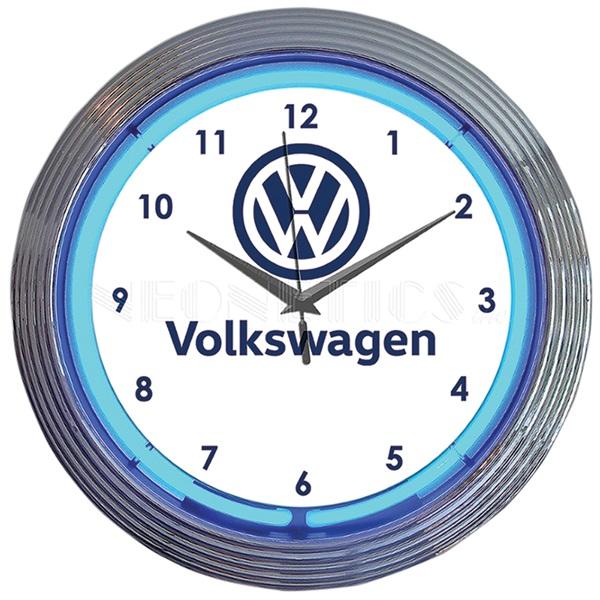 Volkswagen VW Neon Wall Clock