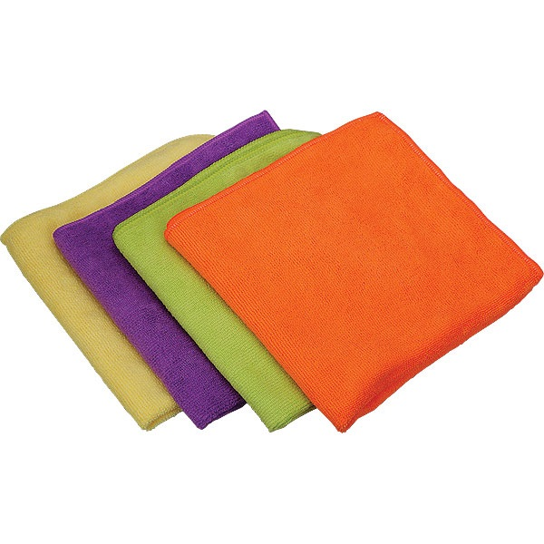 TP Tools® Ultra Plush Micro Fiber Towels - 4 Pk