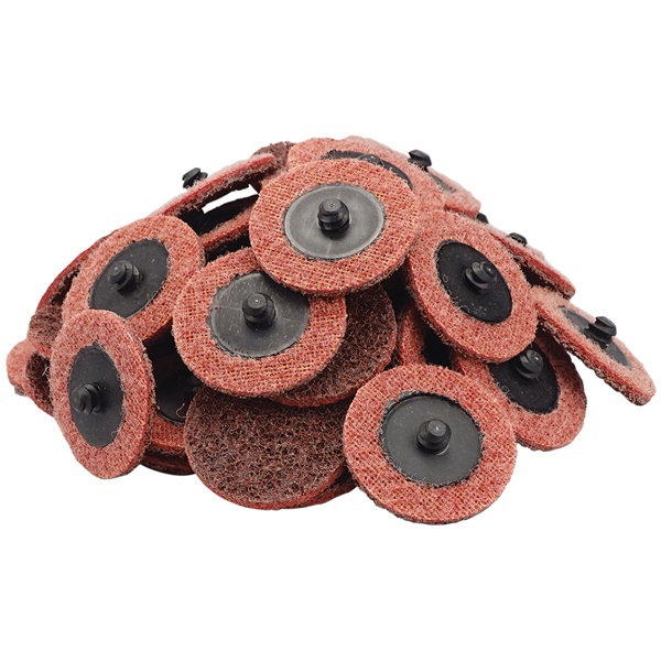 """2"""" Quick-Change Surface Conditioning Discs - Med, Maroon - 50 Pk"""
