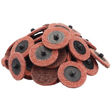 "2"" Quick-Change Surface Conditioning Discs - Med, Maroon - 50 Pk"