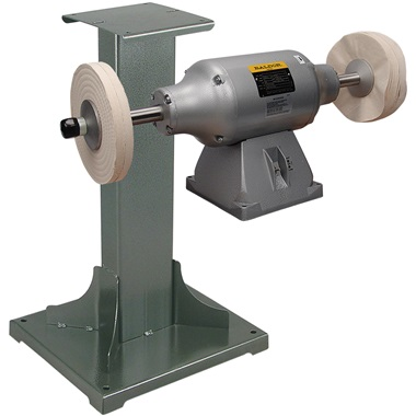 BALDOR® 3/4HP 2-Speed Buffer and 11 Gauge Steel Stand
