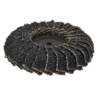 "2"" Core Curved Quick-Change Flap Disc"