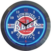 Buick Neon Wall Clock