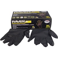 SAS® Raven Professional-Grade Nitrile Work Gloves - XL