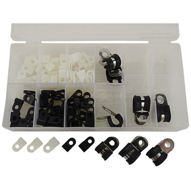 ATD 90-Pc Coated Clamp Assortment