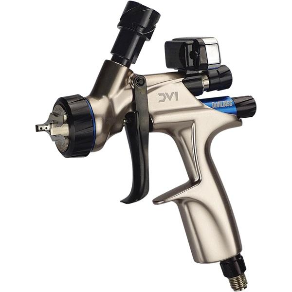 DeVILBISS® DV1 Basecoat HVLP Spray Gun - No Cup