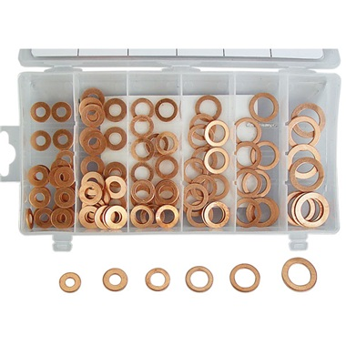 110-Pc Copper Washers