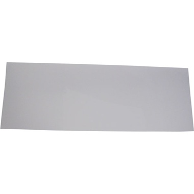 "Medium 12"" x 33"" Cabinet Acrylic Outer Lens Protector"