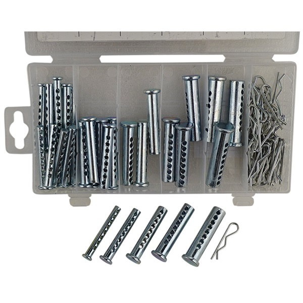 GRIP 74-Pc Clevis Pin Assortment