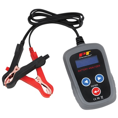 Performance Tool® Digital 12-Volt Battery Analyzer
